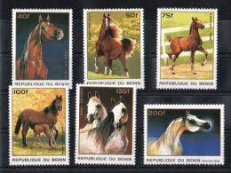 Benin - 1996 Horses MNH__(TH-6063) - Benin - Dahomey (1960-...)