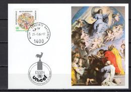 UN United Nations Vienna 1984 Paintings Raphael - Raffael Commemorative Postcard - Arts