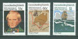 Cocos Islands - 1986 Charles Darwin MNH__(TH-8772) - Cocos (Keeling) Islands
