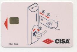 CISA. - Cartes D'hotel