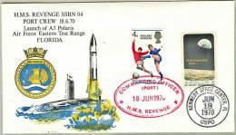 A-3 Polaris Submarine Launch- HMS Revenge- Double Cancelled-SEE - Briefe U. Dokumente