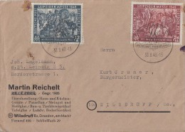 SBZ Brief Mif Minr.240,241 SST Leipzig 30.8.49 FDC - Sowjetische Zone (SBZ)
