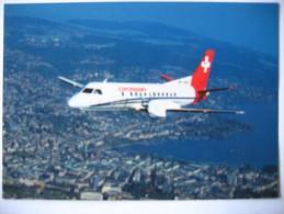 Avion Saab 340A CrossAir 1991 - 1946-....: Moderne