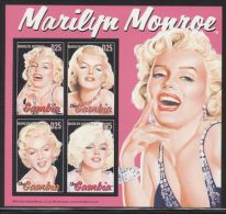 Gambia - 2004 Marilyn Monroe Kleinbogen (2) MNH__(FIL-10161) - Gambia (1965-...)
