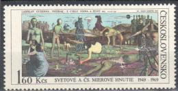 Czechoslovakia 1969 - Art Painting Gemalde - Mi.1869 - MNH (**). - Tchécoslovaquie