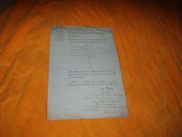 DOCUMENT ANCIEN DE 1823 / MINISTERE DE LA JUSTICE SECRETARIAT GENERAL / DONNE AU CHATEAU DES TUILERIES / SIGNE LOUIS IMP - Documents Historiques