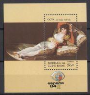 Guinea-Bissau - 1984 Espana'84 Block MNH__(TH-12684) - Guinea-Bissau