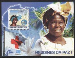 Guinea-Bissau - 2008 Nobel Block (1) MNH__(FIL-10142) - Guinea-Bissau
