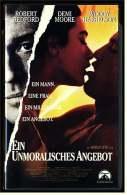 VHS Video  -  Ein Unmoralisches Angebot   -  Ein Mann , Eine Frau , Ein Milliadär , Ein Angebot  -  Von 1998 - Drama