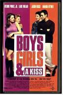 VHS Video  -  Boys, Girls & A Kiss  -  Freundschaft Ist Eine Beziehung Ohne Sex - Aber Wie Lange? -  Von 2000 - Romantic