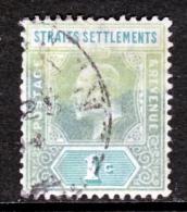 Straits Settlements  93  (o)  Wmk 2 - Straits Settlements