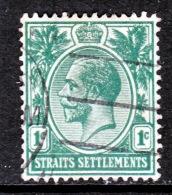Straits Settlements  149  (o)  Wmk 3  Multi CA - Straits Settlements