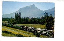 Chemin De Fer Français - Train Autos Couchettes / Citroën DS,3cv,Renault R10,Fiat,Ford ... - Eisenbahnen