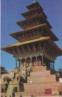 NYATAPOLA  TEMPLE - BHAKTAPUR - Nepal