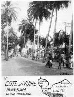 - PHOTO  COTE D'IVOIRE - BASSAM - La Rue Principale - 823 - Lieux