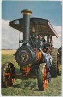 STEAMTRACTOR: BURRELL ROAD ENGINE - No. 3798 'Red Gauntlet' (1919) - England - Tractors