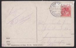 1899 - NEDERLAND - Card + SG 174 (Wilhelmina) + SCHEVENINGEN - Periode 1891-1948 (Wilhelmina)