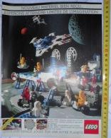 PUB PUBLICITE AD  LEGO LEGOLAND ESPACE LIMITE DE L IMAGINATION - Vieux Papiers