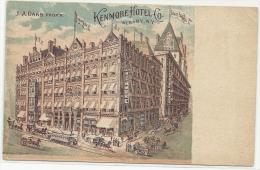 USA : N Y - Albany : Kenmore Hôtel - J.A. Oaks Prop. - Albany