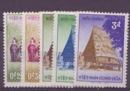 Viet-Nam  N° 65 à 69** - Vietnam
