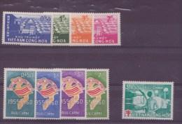 Viet-Nam  N° 142 à 145 + 146 à 149 + 150 -151-152** - Vietnam
