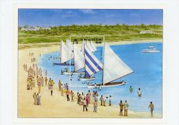 Regates-Anguilla-1986-Noel-YT  B73***MNH - Sailing
