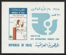 Iraq - 1975 Women´s Year Block MNH__(TH-7929) - Irak