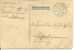 CARTA FELDPOST 1915 BAYREUTH - Storia Postale