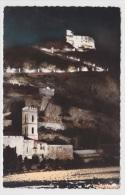 ENTREVAUX - AM 16 - L' EGLISE ET LE FORT LA NUIT - Collection D' ALESSANDRI - FORMAT CPA - Andere Gemeenten