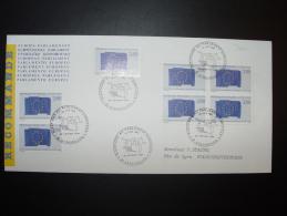 4e ELECTIONS AU PARLEMENT EUROPEEN 12 JUIN 1994 FDC 26.02 CONSEIL EUROPE EUROPA  TIRAGE LIMITE - Europäischer Gedanke