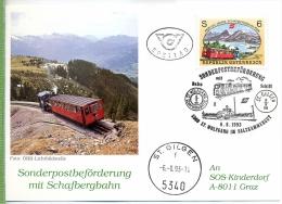 ST. GILGEN 6.8.93 SOS-Kinderdorf Um 1990/2000 Verlag: POSTKARTE Mit Frankatur, Mit Stempel, ST. GILGEN 6.8.93 Erhaltung: - St. Gilgen