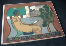 Album Von BERLIN, Charlottenburg Und Potsdam / Premier Plat De Hans Looschen / Globus Verlag Éditeur à Berlin Vers 1904 - Bücher, Zeitschriften, Comics