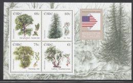 Ireland - 2006 Trees Overprint Block MNH__(THB-3366) - Blocs-feuillets