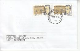 ROMANIA: MARCONI, Nobel Laureate On Circulated Cover  - Registered Shipping! Envoi Enregistre! - Nobel Prize Laureates