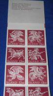 Iceland - 1987 National Symbols Booklet MNH__(FIL-16717) - Carnets