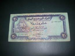 Yemen.  20 Rials - Yemen