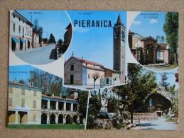 Cr1021)  Pieranica - Via Roma, Chiesa, Monumento Ai Caduti, Villa D'Aste Stella, La Grotta - Cremona
