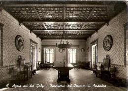 S. AGATA SUI DUE GOLFI  ( NAPOLI ) FORESTERIA DEL DESERTO IN CERAMICA - 1959 - Napoli
