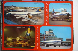 AIRPORT/ AEROPORT/ FLUGHAFEN   FRANKFURT AM MAIN - Aerodrome