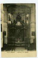CPA  VERZY. INTERIEUR DE L´EGLISE .1914.  TBE. Scan Recto Verso - Verzy