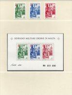 SMOM Weihnacht 1981 Gemälde Malteser Orden Natal Block 15+Marken ** 6€ Christ M/s Painting Bloc Art Sheet Bf Orden Malta - Malte (Ordre De)