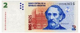 ARGENTINA 2 PESOS ND(2006) SERIES G Pick 352 Unc - Argentine