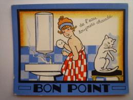 """BON  POINT   Pub   """" CHAUFFE-EAU  ELECTRIQUE  à  ACCUMULATION  APEL """" - Publicités"""