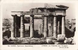 1959 ATHENES - LES PROPYLEES DE L'ACROPOLE - Grèce
