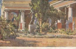 C1930 CORFOU - PERISTYLE DU PALAIS ACHILLEION - Grèce
