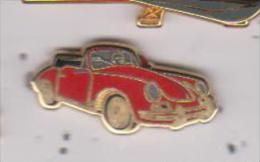 Pin's VOITURE PORSCHE CARRERA Signé  BALLARD Numéroté 2 Sur 962 Doré Or Fin - Porsche