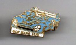 PINS PIN'S AUTO LE MANS 24HEURES DU MANS  AUTOMOBILE GITANES MATRA SIMCA  EGF  2,5  X 1, 6 CMS - Mercedes