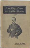 De Twintig Plantaardige Geneeswijzen Van Priester HAMON Door Dr Sabin, Parijs Met Addendum Kostprijzen - Livres, BD, Revues