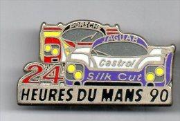 PINS PIN'S AUTO LE MANS 24HEURES DU MANS  AUTOMOBILE  PORSCHE JAGUAR 4 X 2,2 CMS - Mercedes