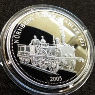 Togo 1000 Fr 2005 Locomotive Railway Silver Proof - Togo